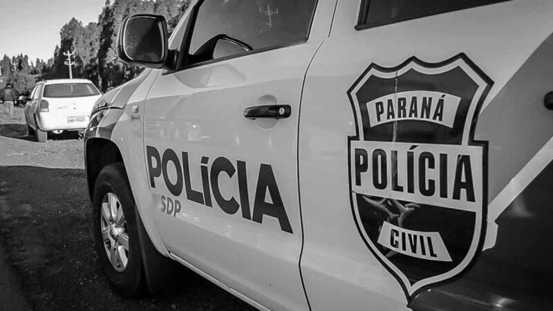 POLICIA CIVIL DE JAGUARIAÍVA ELUCIDA HOMICÍDIO OCORRIDO NO MUNICÍPIO EM JANEIRO DE 2020