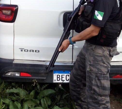 Policiais  de Piraí do Sul recuperam veículo tomado de assalto