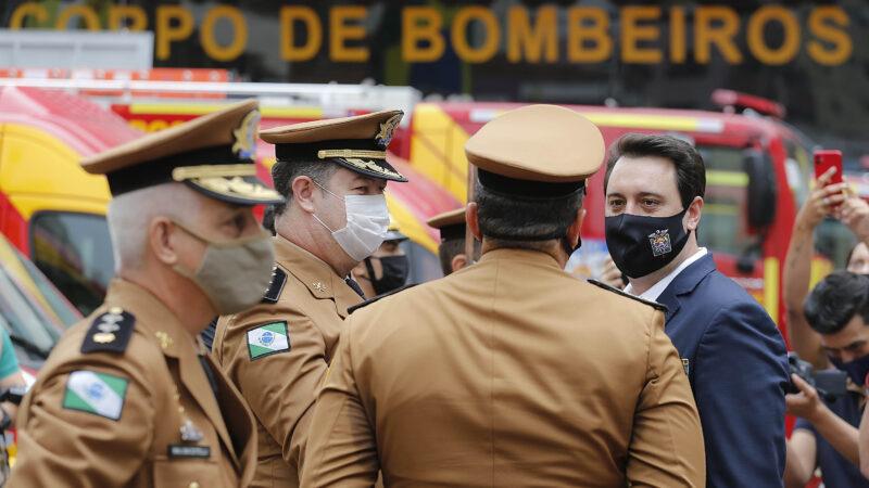 Governador entrega 15 novas viaturas para o Corpo de Bombeiros