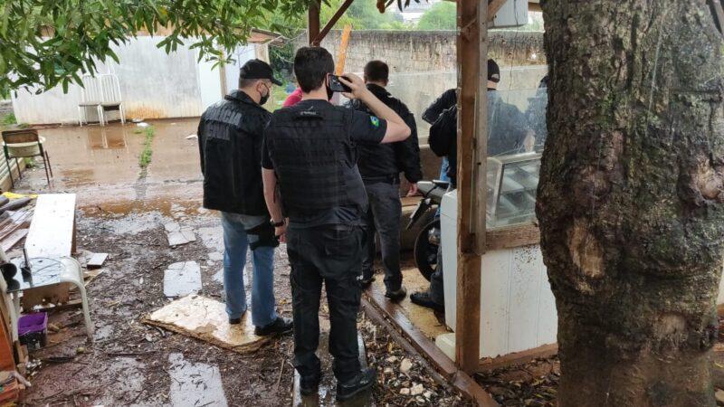 Polícia Civil prende, em Ponta Grossa, associação criminosa que furtava e receptava fios de cobre