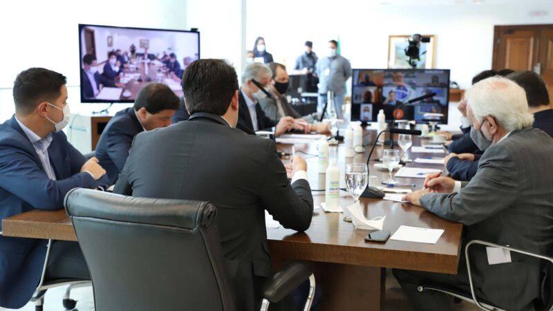 Governador se reúne com bancada para discutir emendas federais