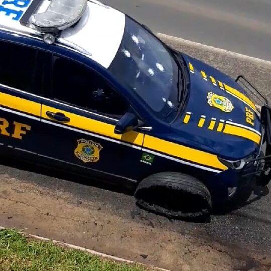 Força tarefa persegue criminosos que trocaram tiros com policiais na entrada de Ponta Grossa