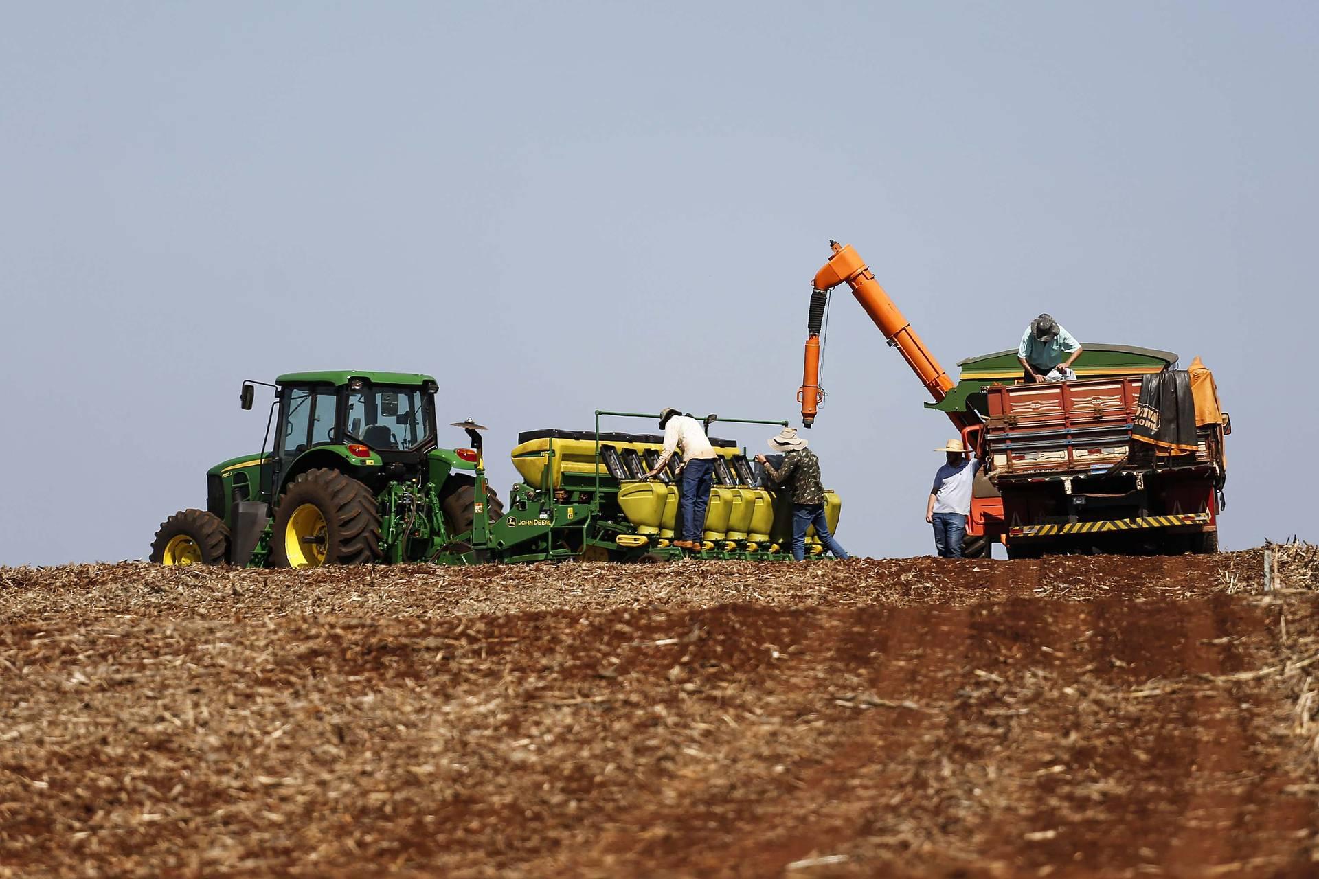 Agropecuária foi base de sustentação da balança comercial