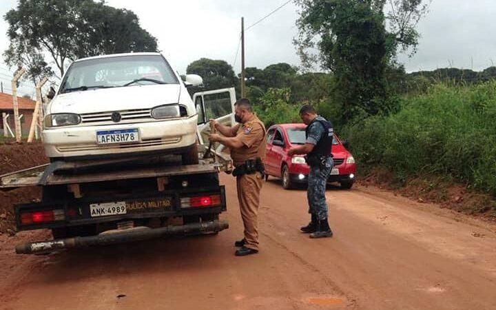 GM de Castro recupera veículo furtado