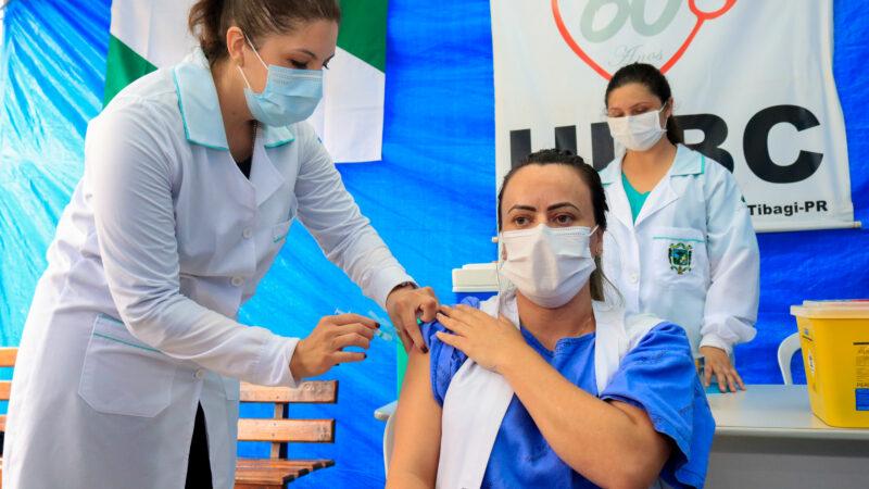 Prefeitura municipal de Tibagi inicia o plano de vacinação contra o Coronavírus