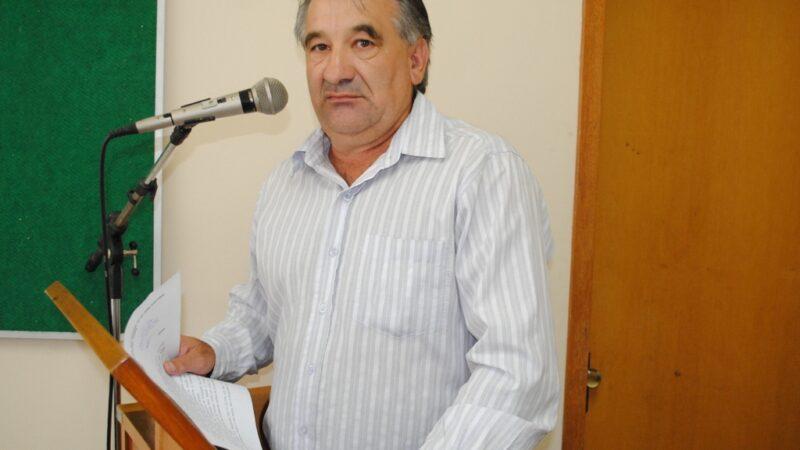 Câmara faz sessão póstuma a ex-vereador falecido ontem