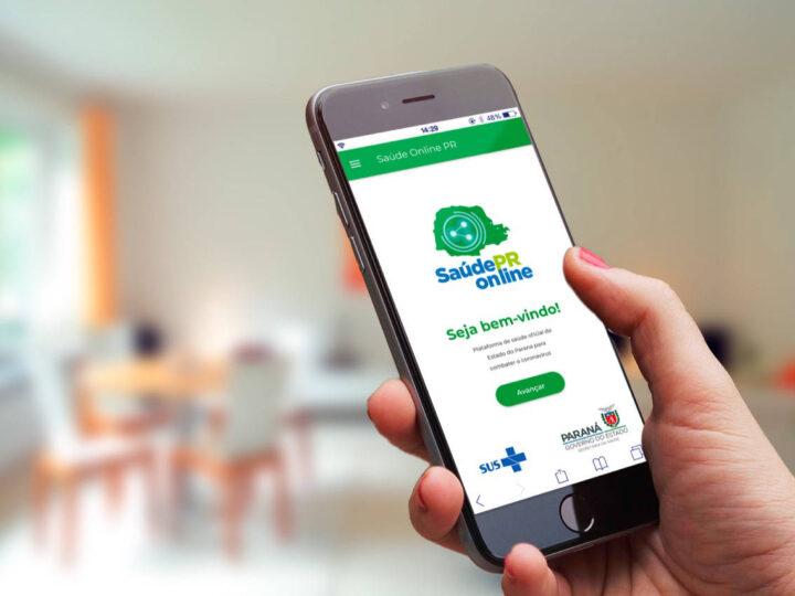 Governo do PR amplia alcance do aplicativo Saúde Online Paraná