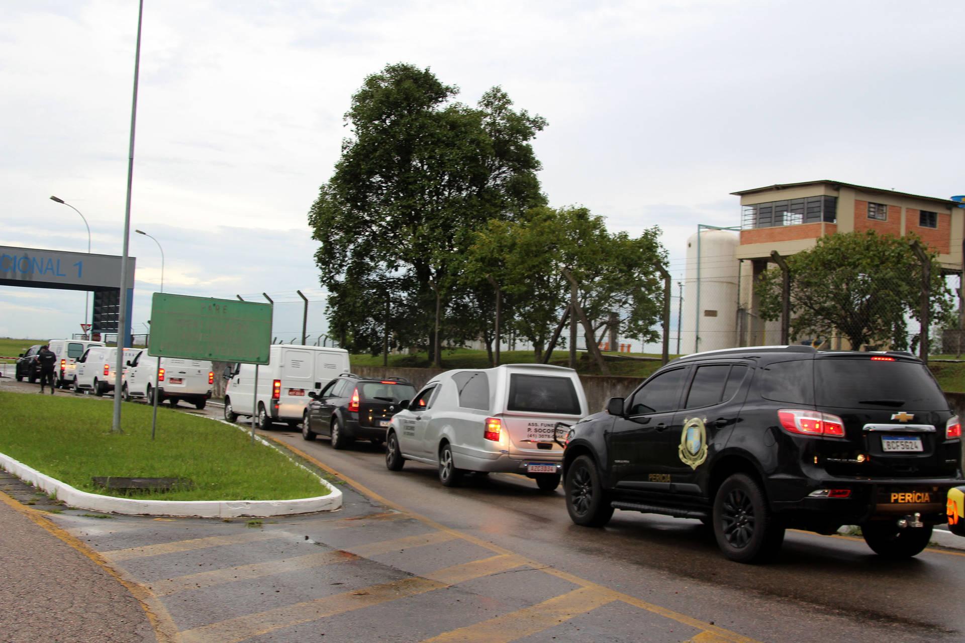 Vítimas do acidente da BR-376 chegam ao Pará
