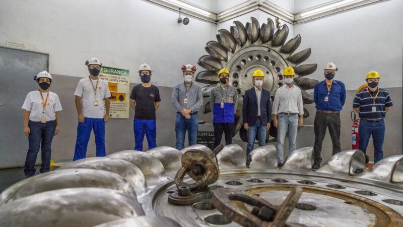 Copel investirá R$ 100 milhões na cinquentenária Usina Parigot de Souza