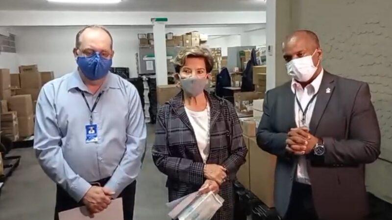 Enfermeira Terezinha deve ser a primeira a ser vacinada em Ponta Grossa