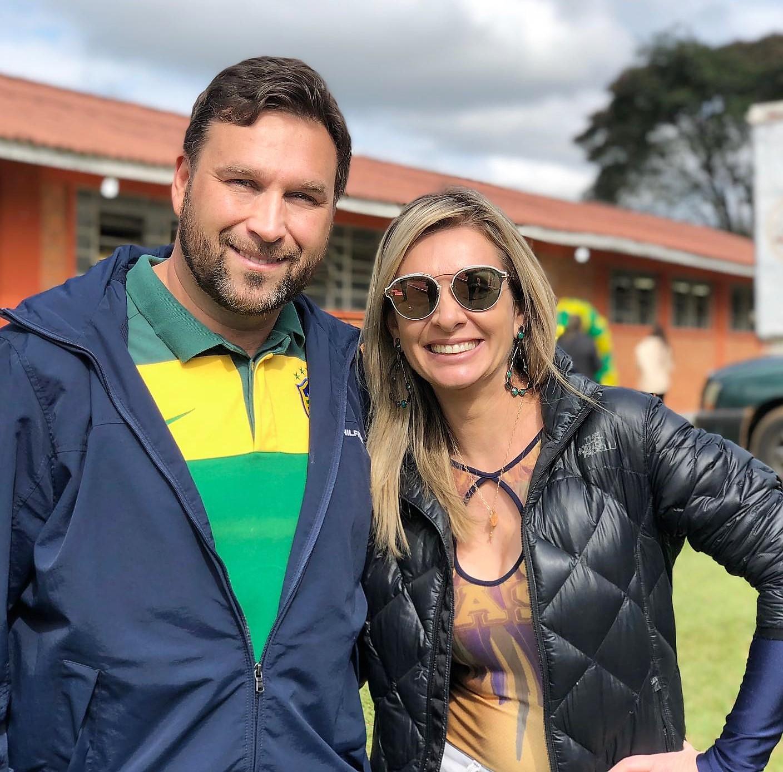 Márcio e Fábia Pauliki