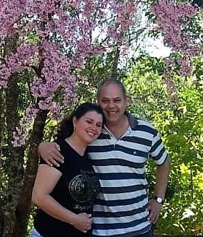 Meri Jayme e Samir Rodney Jayme