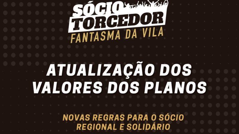 Sócio Fantasma da Vila; Diretoria anuncia novos valores dos planos
