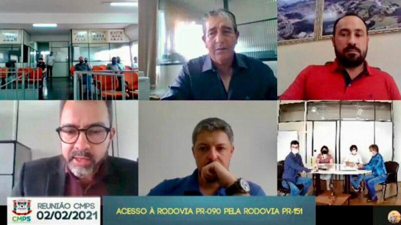 Moradores de Piraí do Sul fazem abaixo-assinado contra fechamento de retorno; secretário Sandro Alex irá se pronunciar nas próximas horas
