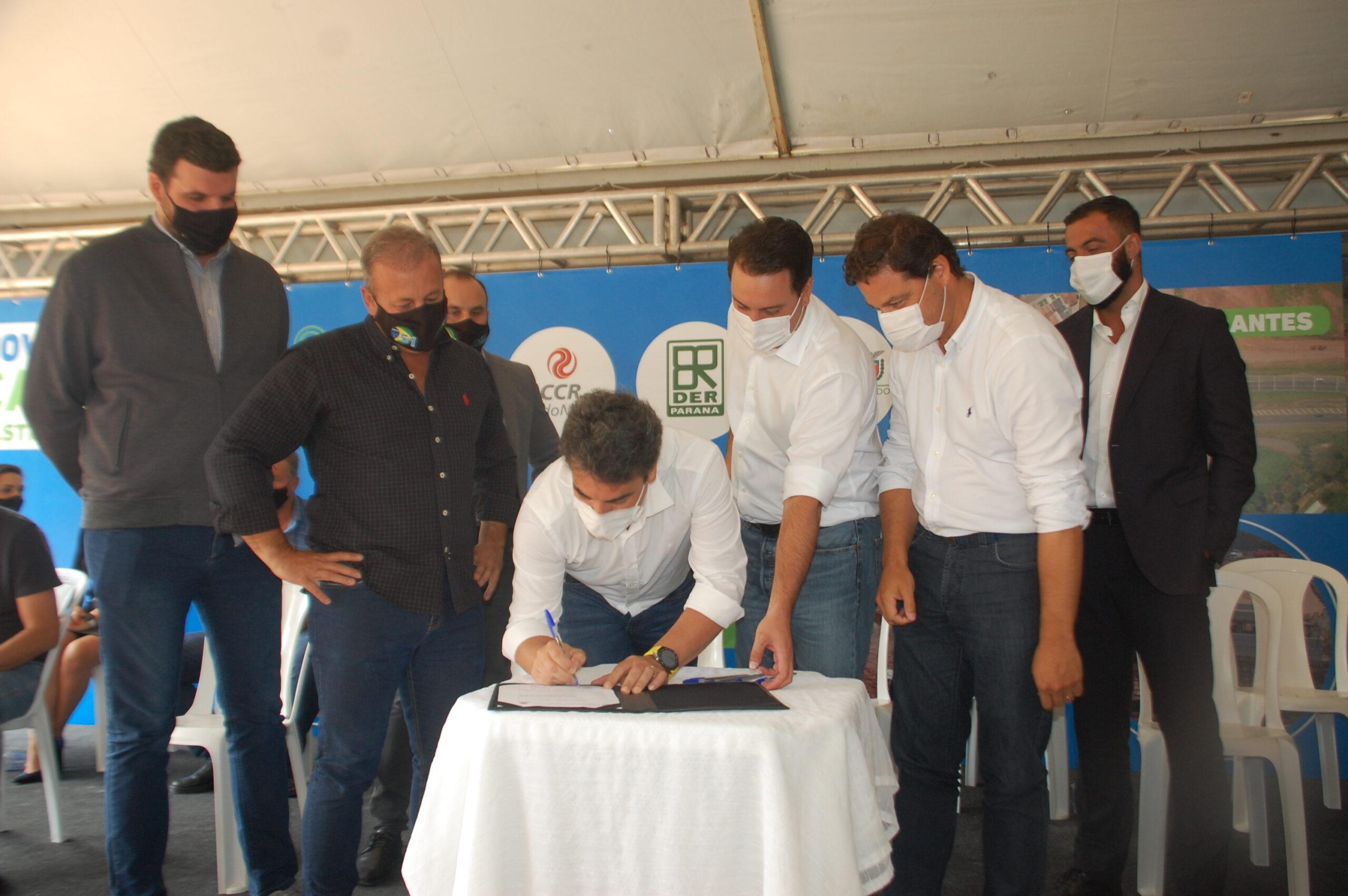Governador autoriza início das obras do Contorno Norte de Castro