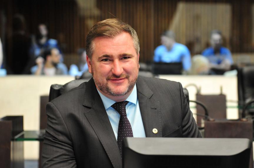 Deputado Emerson Bacil é o novo líder do bloco PSL/PTB na Assembleia Legislativa