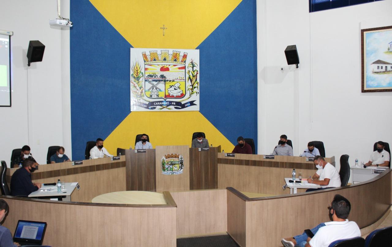 Câmara Municipal realiza a primeira sessão de 2021