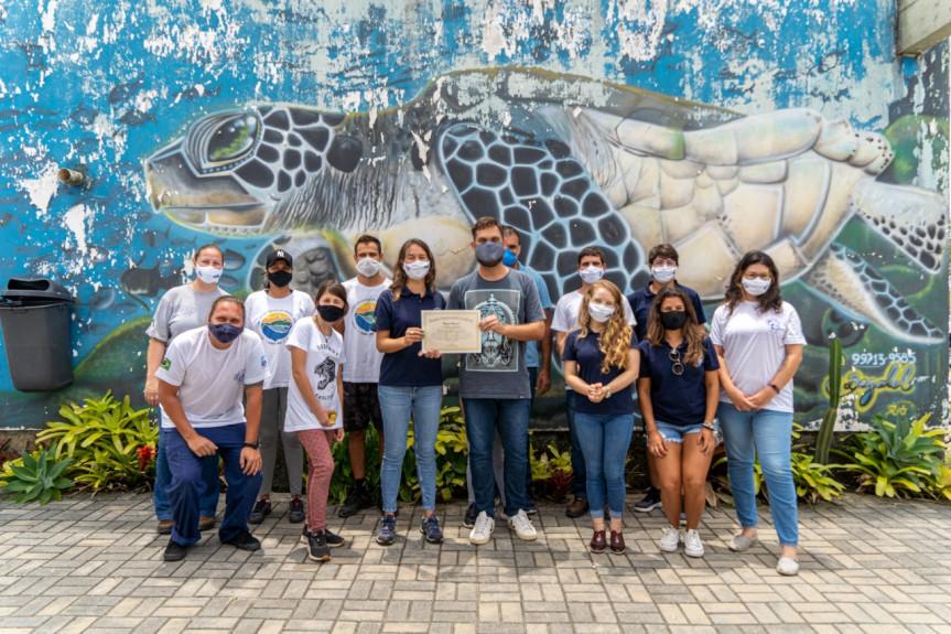Laboratório de Ecologia e Conservação da UFPR recebe menção honrosa pelo trabalho realizado