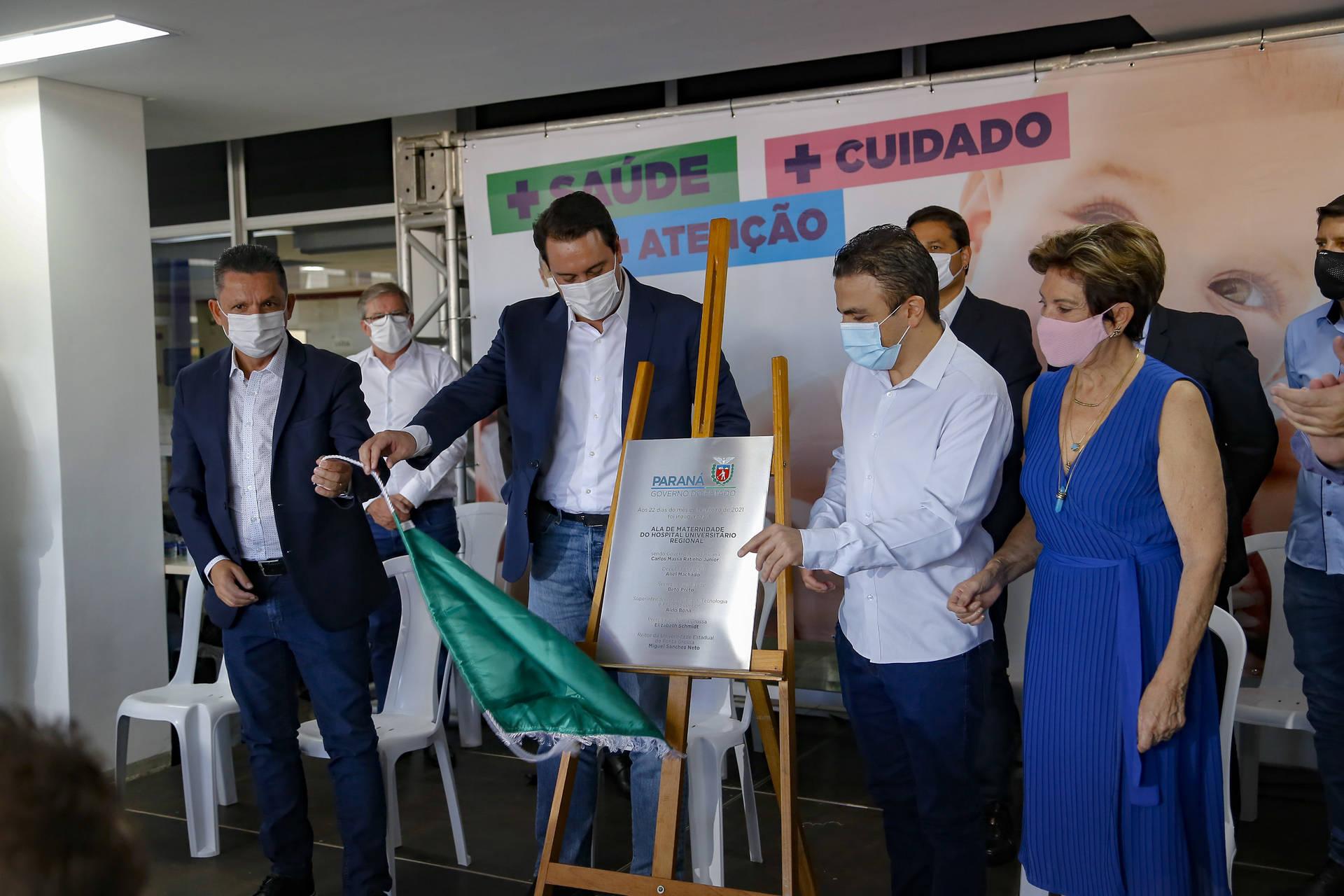 Nova ala amplia atendimento no Hospital Universitário dos Campos Gerais