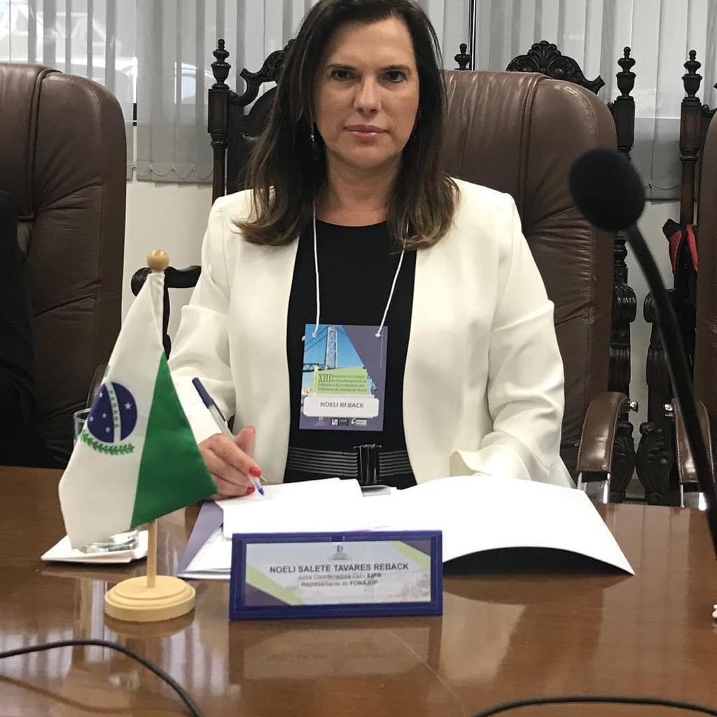 Juíza do TJPR é eleita presidente do Colégio de Coordenadores da Infância e Juventude dos Tribunais de Justiça do Brasil
