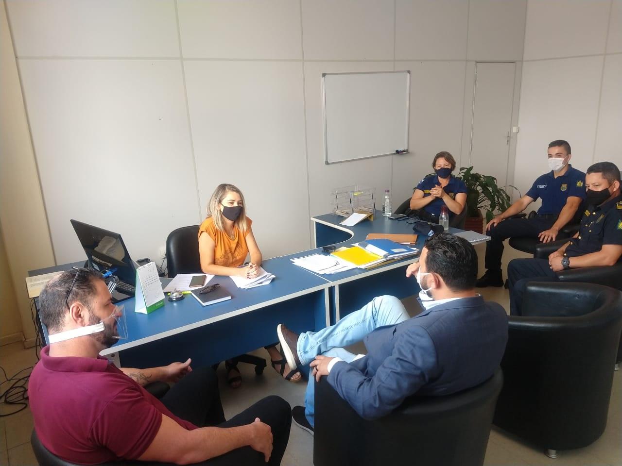 Deputada federal Aline Sleutjes garante emenda de R$ 250 mil para a Segurança de Ponta Grossa