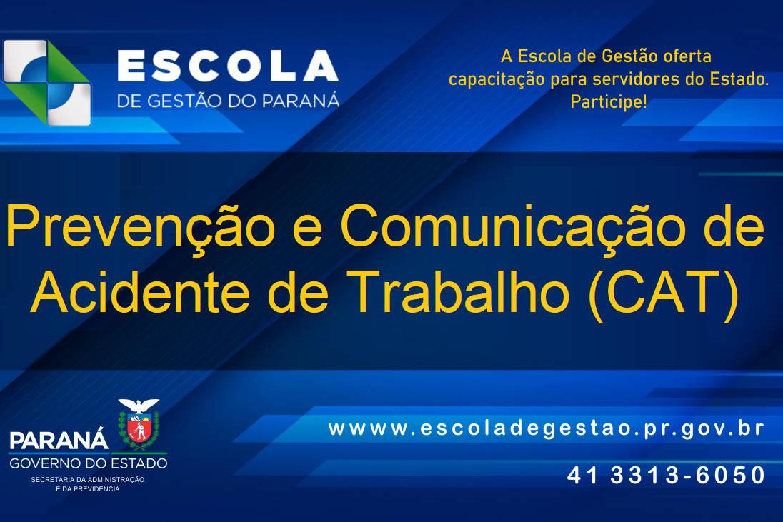 Paraná promove curso de prevenção de acidente de trabalho