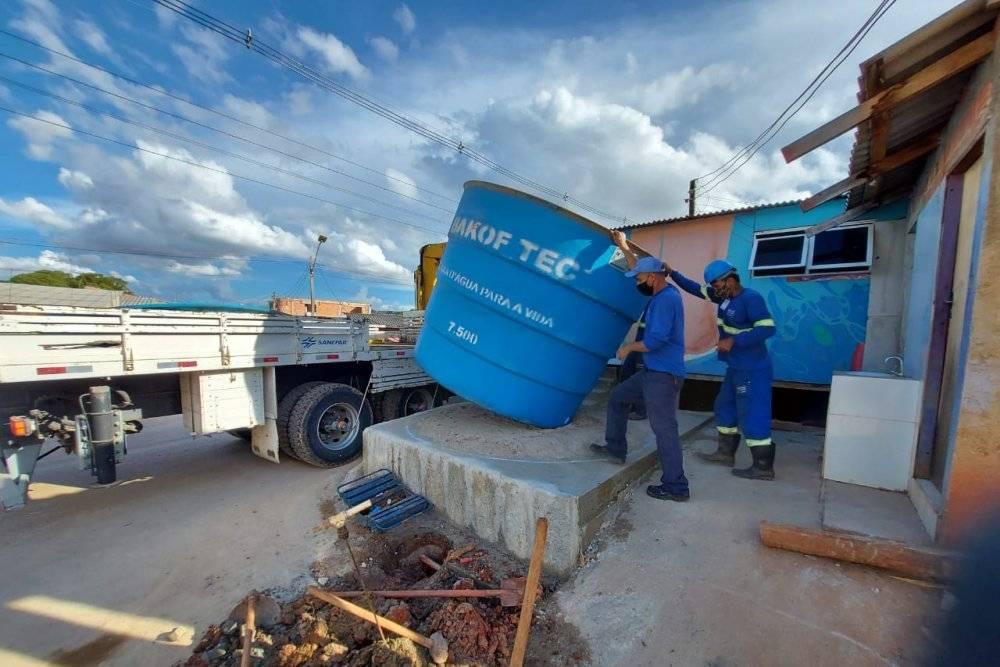 Sanepar reforça abastecimento de água para população vulnerável