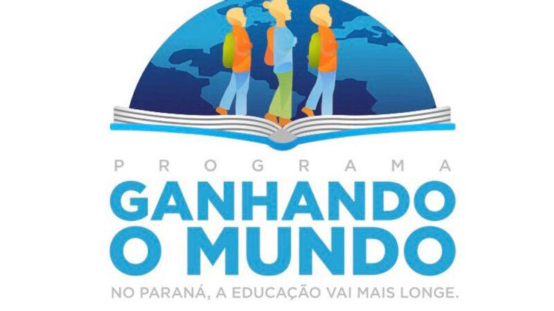 Educação divulga os 100 selecionados para o programa Ganhando o Mundo