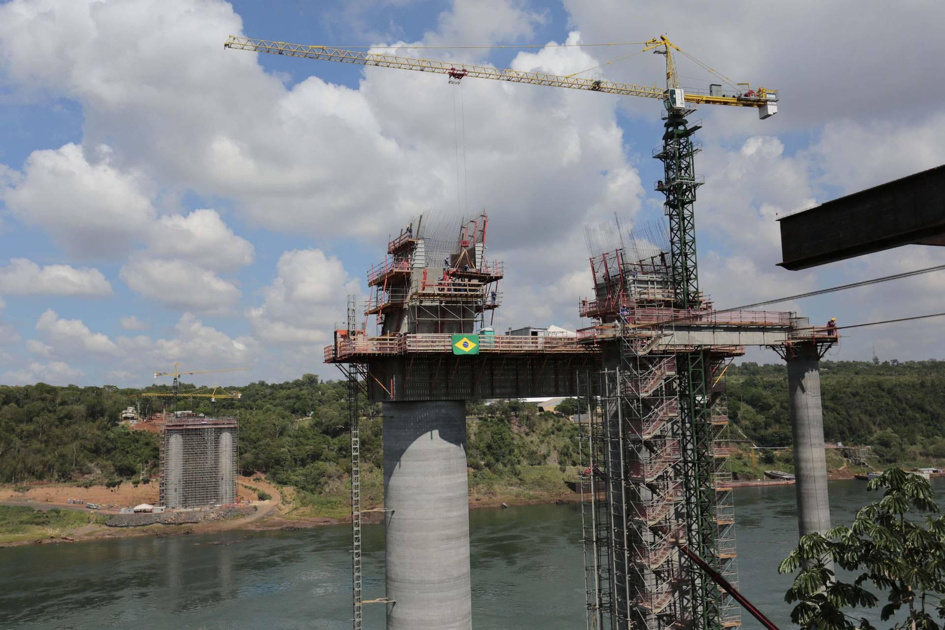 Investimento na Ponte da Integração já alcança R$ 104 milhões