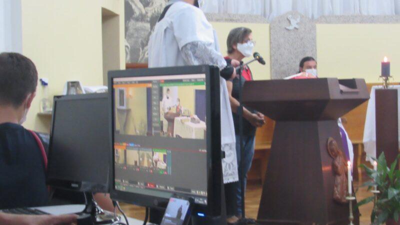 Missas em Castro retornam ao formato online