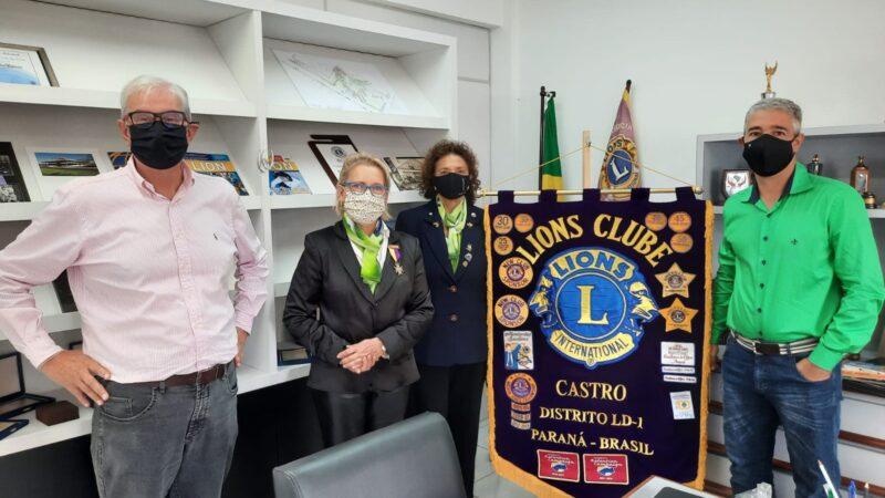 Lions Clube de Castro ganha nova sede às vésperas de comemorar 65 anos