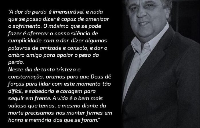 Morre vice-presidente do Sicredi Campos Gerais, vítima de Covid-19