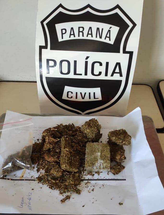 Homem é detido por tráfico de drogas em Jaguariaíva