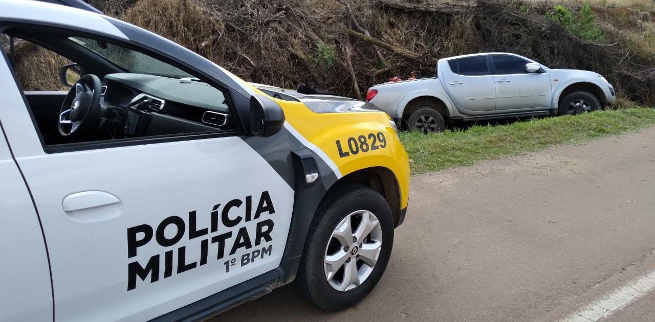 Ladrão preso em perseguição ameaçou policiais com uma arma