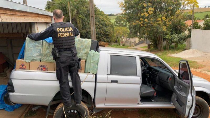 Polícia Federal deflagra operação contra a comercialização de cigarros contrabandeados na região