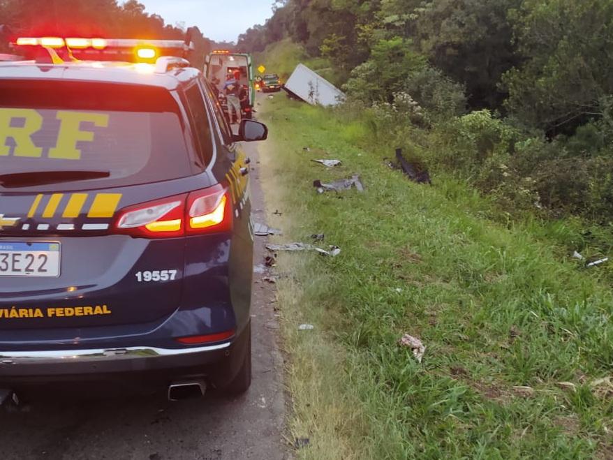 Motorista de BMW morre em grave acidente na BR-277