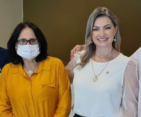 Deputada Aline Sleutjes participa de comitiva no Paraná com a ministra da Mulher, Família e Direitos Humanos Damares Alves