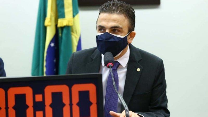 Aliel recebe ministro Marcos Pontes na Comissão de Ciência e Tecnologia