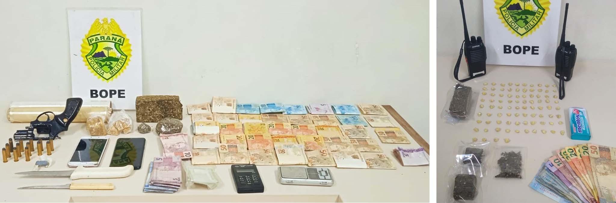 Quatro são detidos por tráfico de drogas durante operação em PG