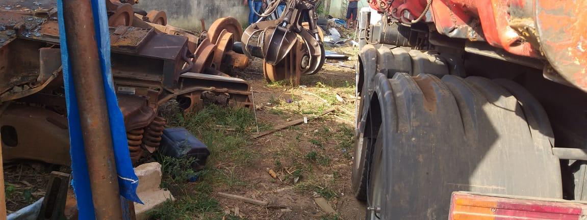 PM prende dono de ferro-velho por receptação de fios de cobre e objetos furtados em Castro