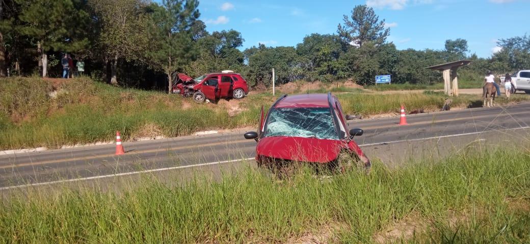 Motorista morre em colisão frontal na região