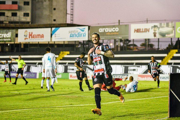 Operário vence o Londrina no Germano Krüger e é líder do Campeonato Paranaense