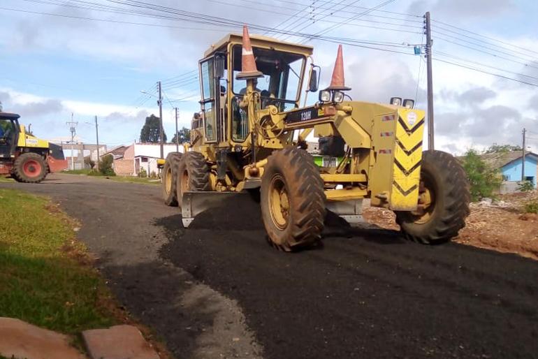 Prefeitura realiza pavimentação sustentável no Shangrilá