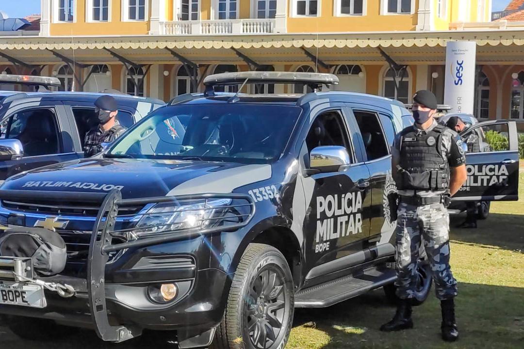 PM lança em Ponta Grossa 'Operação Pronta Resposta III' para inibir crimes violentos no Estado