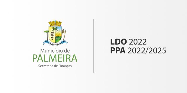 Município de Palmeira envia à Câmara o Plano Plurianual e a Lei de Diretrizes Orçamentárias