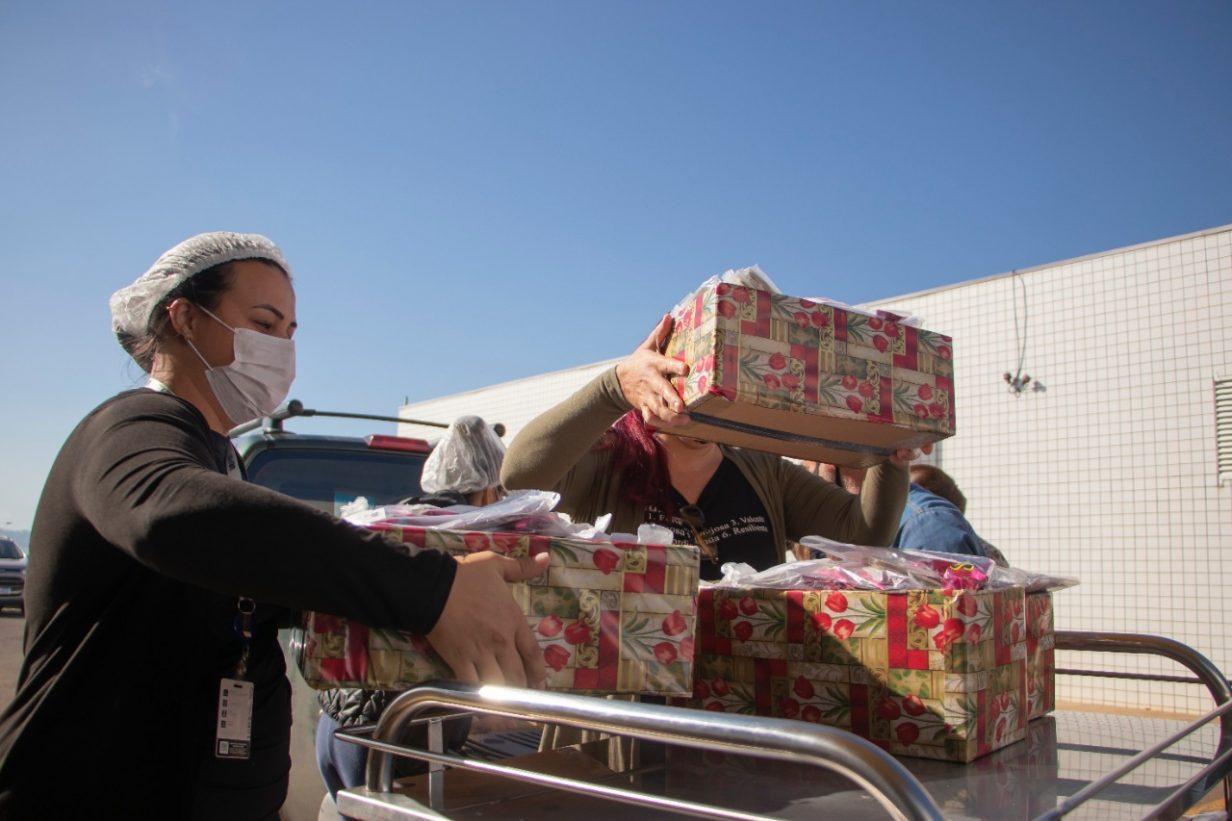 Hospital Universitário e Humai agradecem doações feitas por entidades da região