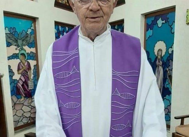 Padre Faustino morre aos 78 anos vítima da Covid-19