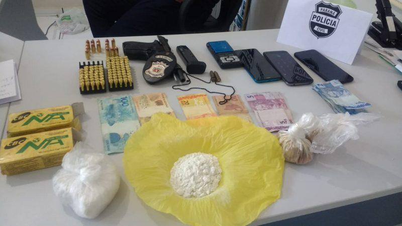 Policiais civis da região prendem dois em investigação