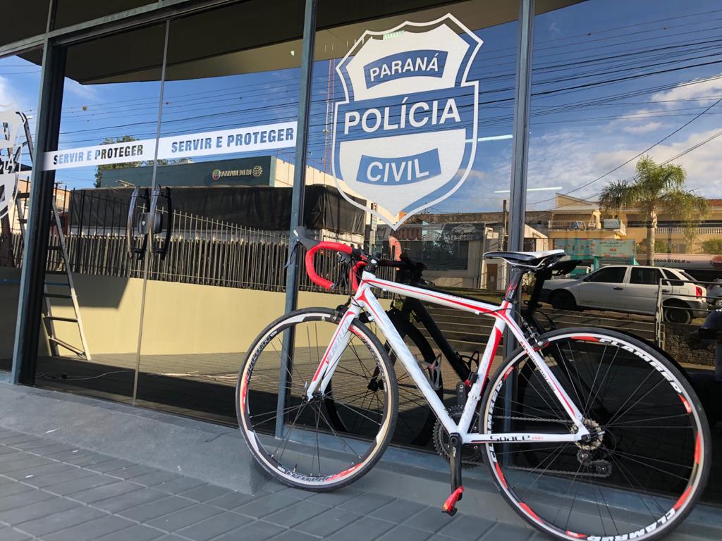 Polícia Civil de Ponta Grossa recupera bicicleta de R$ 12 mil