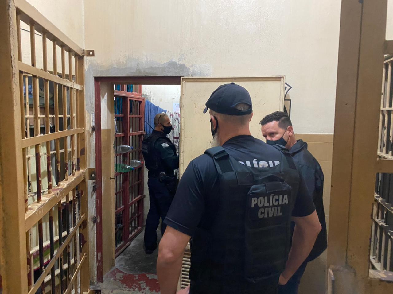 Megaoperação transfere 38 presos de Palmeira para Ponta Grossa